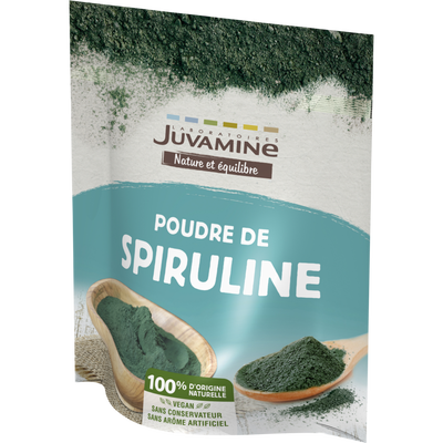 JUVAMINE POUDRE DE SPIRULINE, 200 g