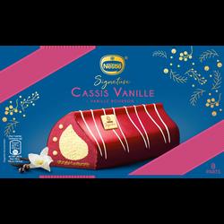 Bûche glacée vanille cassis signature NESTLE, 491g