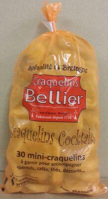 CRAQUELINS COCKTAIL BELLIER X 30 50gr