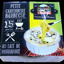Petit camembert au barbecue lait pasteurisé, GRAINDORGE, 23% de MG, 120 g