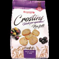 Crostini olives noires ARTESANI, 100g