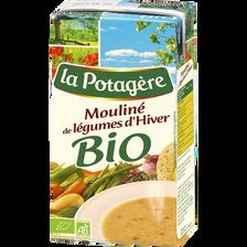 Mouliné légumes d'hiver bio LA POTAGERE, 1 litre