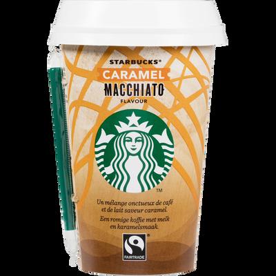 Macchiato caramel STARBUCKS, cup de 220ml
