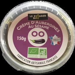 Crème d'aubergine au sésame, BIO, pot 150g