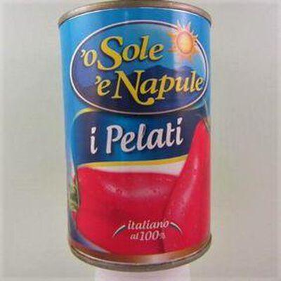 Tomates pelées I Pelati  O SOLE E NAPULE,400g