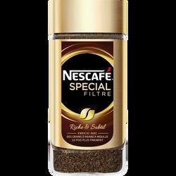 Café soluble spécial filtre Nestlé NESCAFE, 200g
