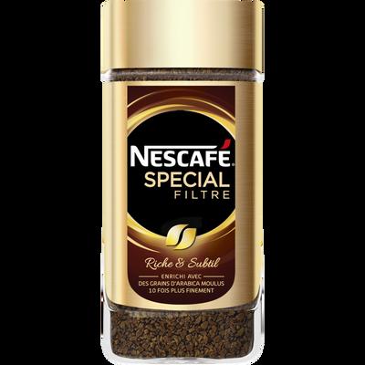 Café soluble spécial filtre Nestlé NESCAFE, bocal de 200g