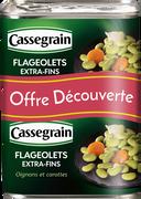 Cassegrain Flageolets Cuisiné Extra Fin Trésor Gourmandises , 2x4/4 930g