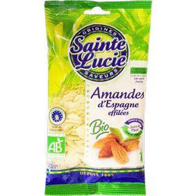 AMANDES BIO EFFILEES SAINTE LUCIE 125G