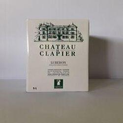 Chateau de Clapier Luberon Rosé Bib 5L