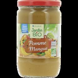 Dessert biofruit pomme/mangues bio JARDIN BIO boc.680g