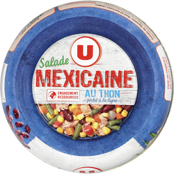 Salade mexicaine au thon U, 250g
