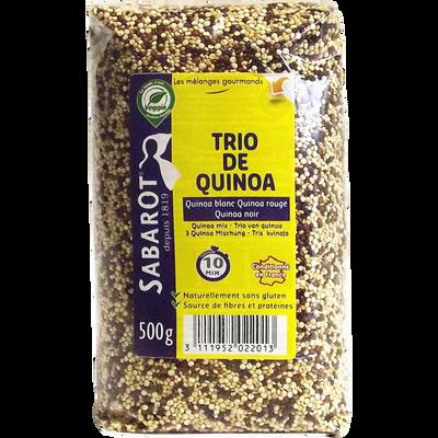 Trio de quinoa, SABAROT, sachet, 500g