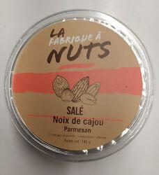 NOIX DE CAJOU PARMESAN SALE 145G - LA FABRIQUE A NUTS