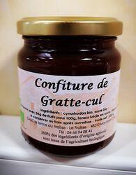 Confiture de gratte-cul bio FERME DU FRAISSE, 200g