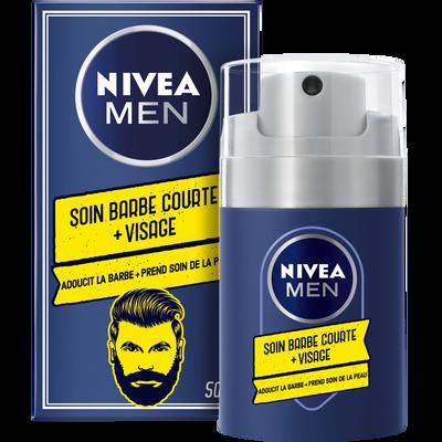 Soin barbe courte + visage NIVEA men, 50ml