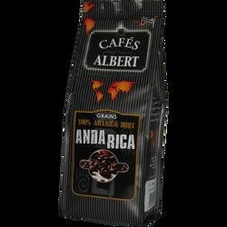 Café grain arabica doux du Anda Rica CAFES ALBERT, 250g