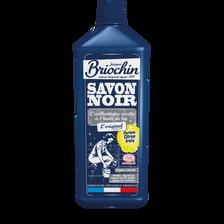 Savon noir liquide parfum citron frais écocert, BRIOCHIN, flacon de 1litre