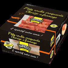 P'tits roulés craquants chorizo et fromage TAPASTI, 102g