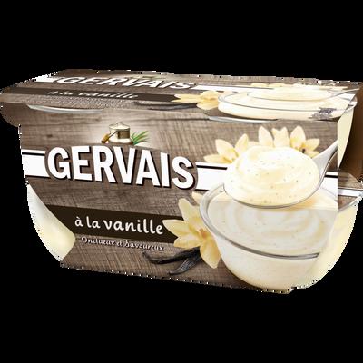 Yaourt sucré à la vanille GERVAIS, 4x115g