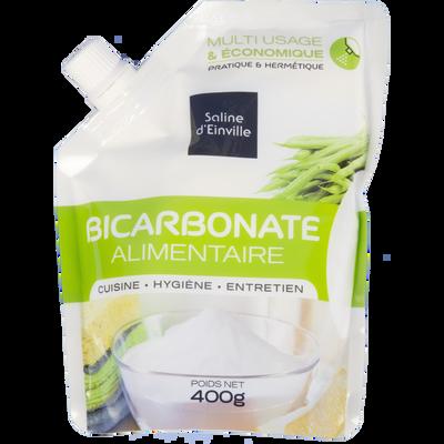 Bicarbonate alimentaire SEL D'ENVILLE , sachet de 400g