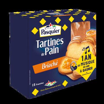 Pasquier Tartine De Pain Brioché Brioche Pasquier, 210g