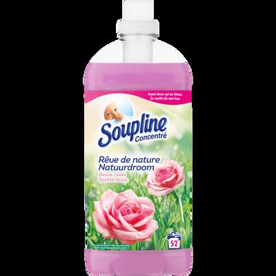 Assouplissant rêve de nature rosée SOUPLINE, bidon 1,3L