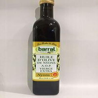 Huile d'Olive de NYONS A.O.P vierge extra BARRAL