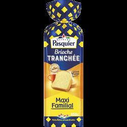 """Brioche tranchée nature """"tranche gourmande"""" maxi familial PASQUIER, 650g"""