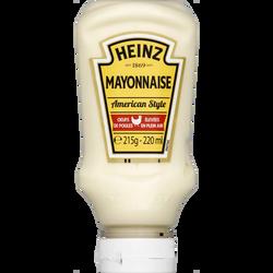 Mayonnaise HEINZ, flacon souple de 215g