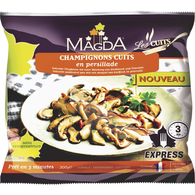 Cocktail de champignons cuits MAGDA, 300g