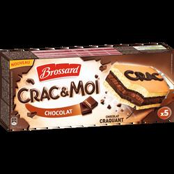 Crac&moi chocolat BROSSARD, x5 soit 155g