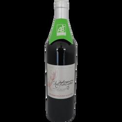 Vin rouge bio de Bordeaux AOP l'Authentique du Château Lagarde, 75cl