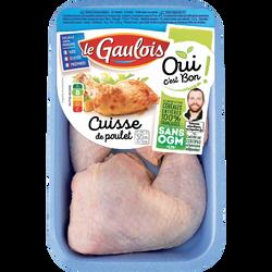 Cuisse poulet blanc, OCB LE GAULOIS, France, 2 pièces, barquette, 500g