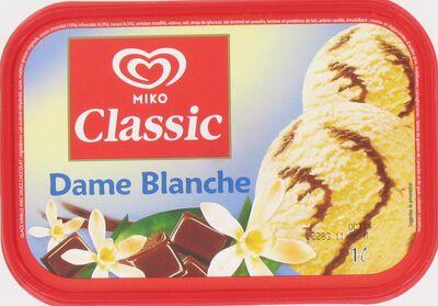 Crème Glacée  Dame  Blanche Miko 1L