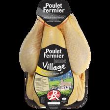 Poulet jaune Label Village, MAITRE COQ, France, 1 pièce 1,4 kg