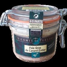 Canard Foie Gras De  Entier Vicomte De Turenne Bocal 160g