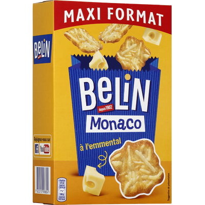 Monaco Crackers BELIN Lu, paquet de 155G