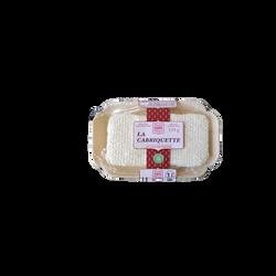 Cabriquette au lait pasteurisé de chèvre SEVRE ET BELLE, 25%MG, 120g