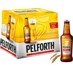 Bière blonde PELFORTH, 5,8°, 12x25cl