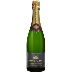 Crémant de Bourgogne blanc, brut Veuve Ambal millésimé 12°, bouteillede 75cl