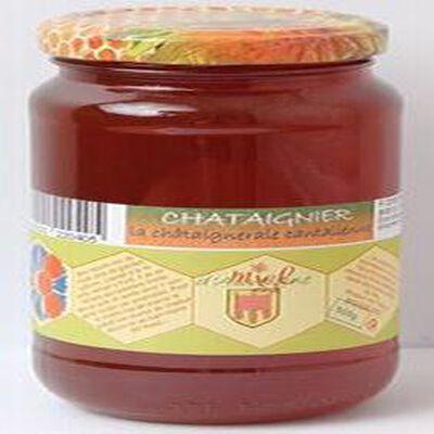 Miel châtaignier, Les ruchers des Barons d'Apcher, 500g