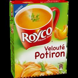 Velouté de potiron ROYCO, étui 4 sachets, 80cl