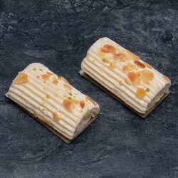 Bûchette crème beurre nougat, 4 pièces, 300g