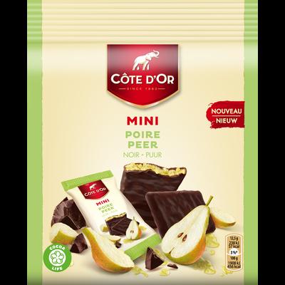 Chocolat mini fruit poire COTE D'OR, 150g