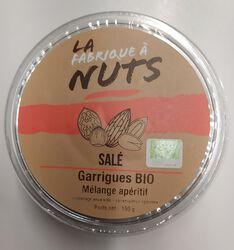 GARRIGUES BIO SALE 150G - LA FABRIQUE A NUTS