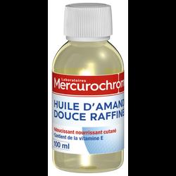 Huile d'amande douce MERCUROCHROME, bouteille de 100ml