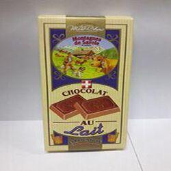 Tablette de chocolat au lait CHOCOLATERIE DU MONT-BLANC 100g