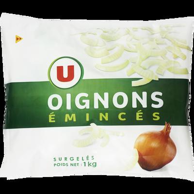 Oignons émincés U, 1kg