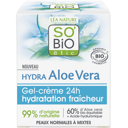 Gel-crème, Hydra Aloe Vera Fraîcheur
